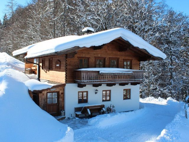 Chalet Sonntagshorn in Unken im Winter